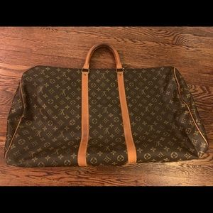 Auth Louis Vuitton Keepall 60 bag